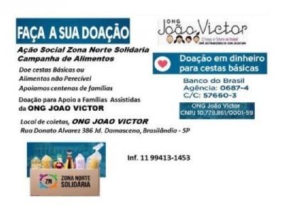 Arrecadação - ONG João Victor